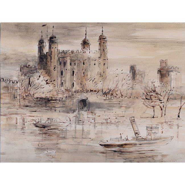 Violet Hilda Drummond Tower of London
