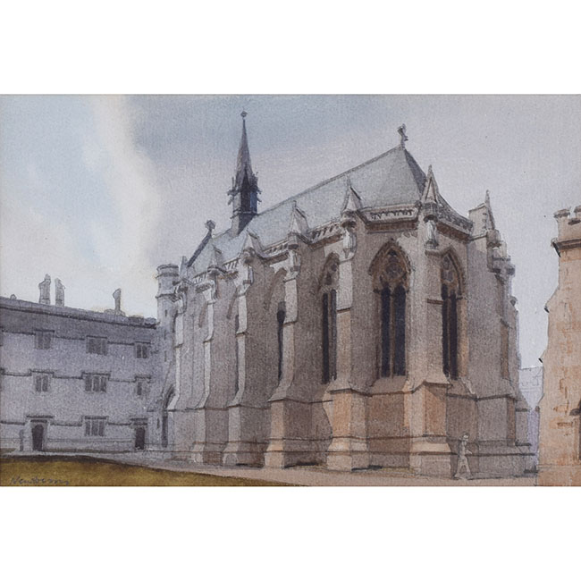 John Newbury Exeter College Chapel