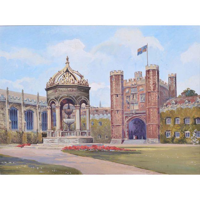 Gwen White Great Court Trinity College Cambridge