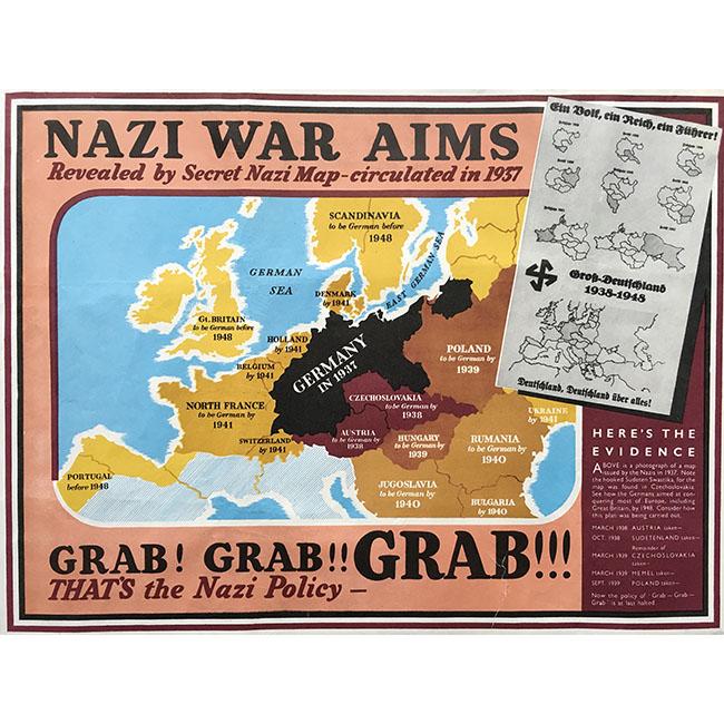 Nazi War Aims (map)