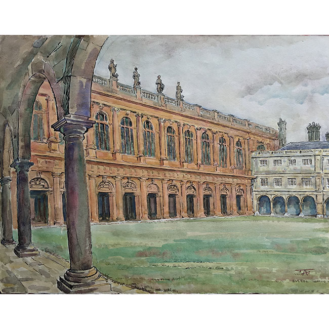J V C Anthony Wren Library, Trinity College, Cambridge