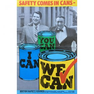 Saftey comes in cans