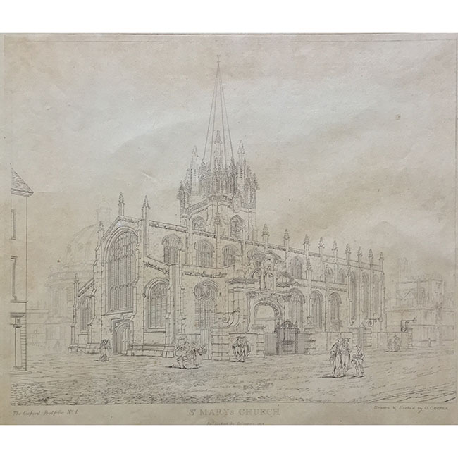 G. Cooper St. Mary's Church Oxford