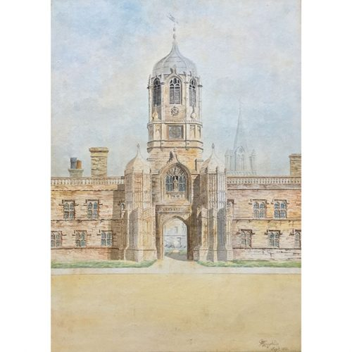 M. Laughlin Tom Tower Oxford