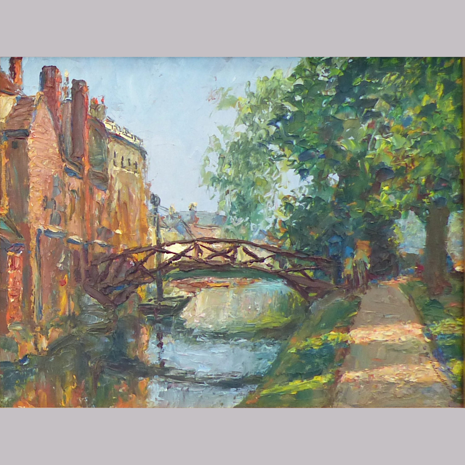 Piero Sansalvadore Queens Bridge Cambridge