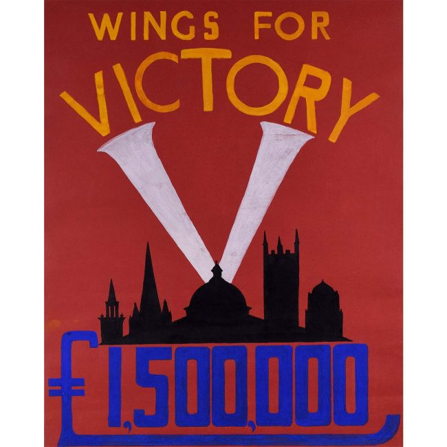 Oxford Wings for Victory Poster Design II c. 1943