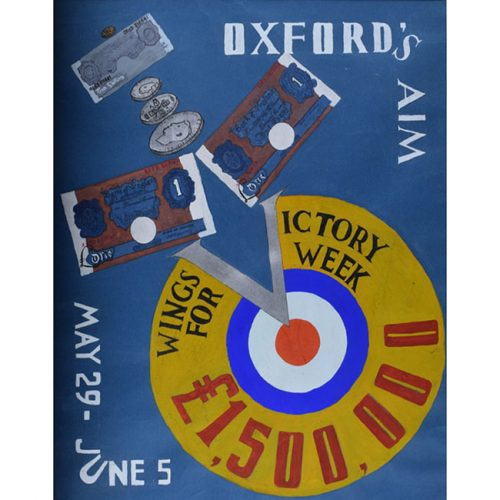 Oxford Wings for Victory Poster Design
