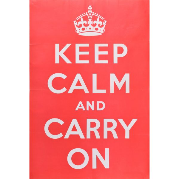 Original Keep Calm and Carry on Poster for sale