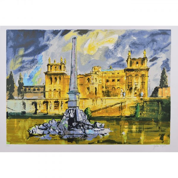 John Piper Duchene Fountain Blenheim Palace for sale