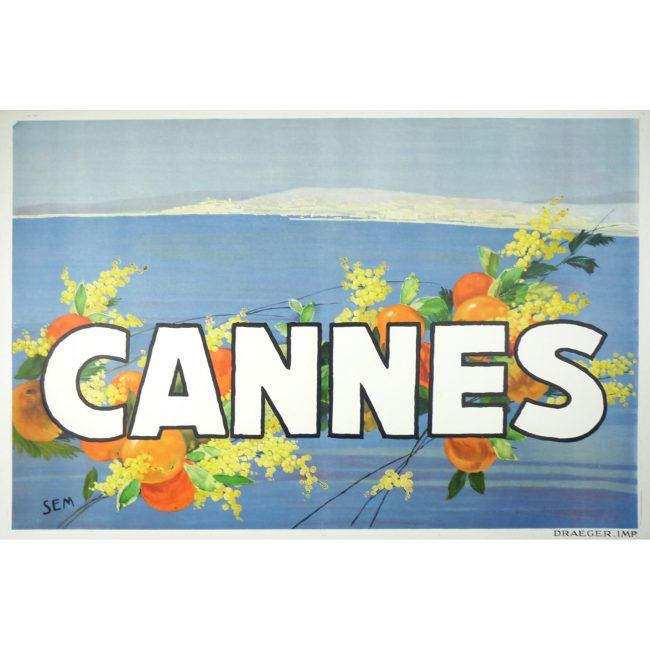 SEM Cannes Original Poster 1930