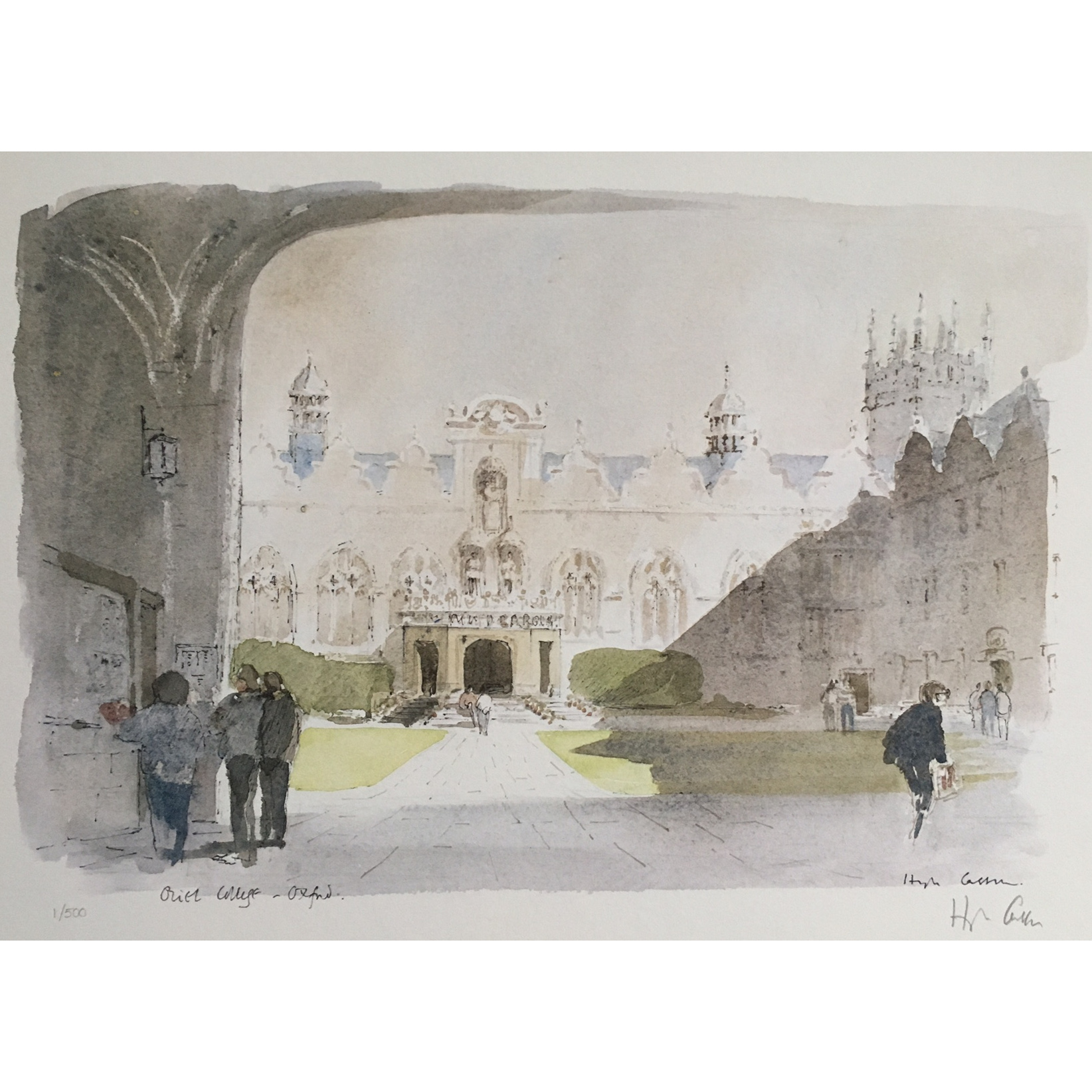 Hugh Casson Oriel College Oxford 1 of 500