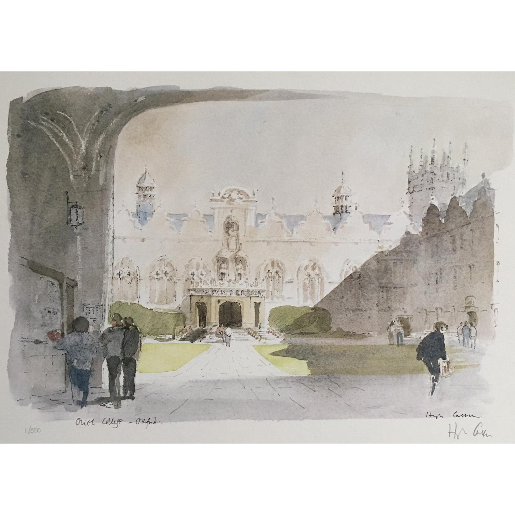 Hugh Casson Oriel College Oxford 1 of 500