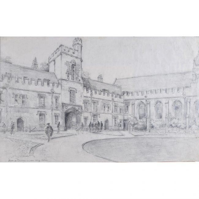 Bryan de Grineau St John's College Oxford Quad