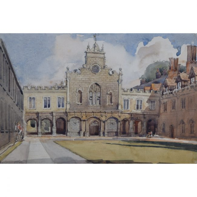 William Thomas Martin Hawksworth Peterhouse Cambridge