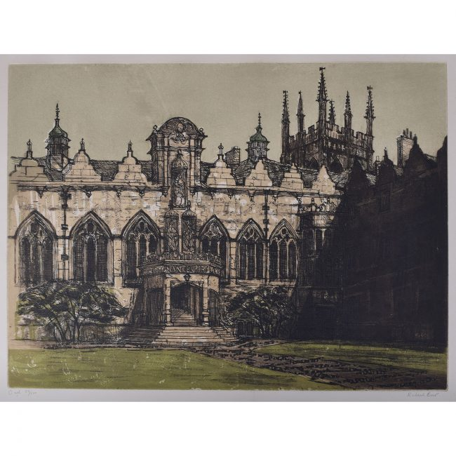 Richard Beer Oriel College Oxford