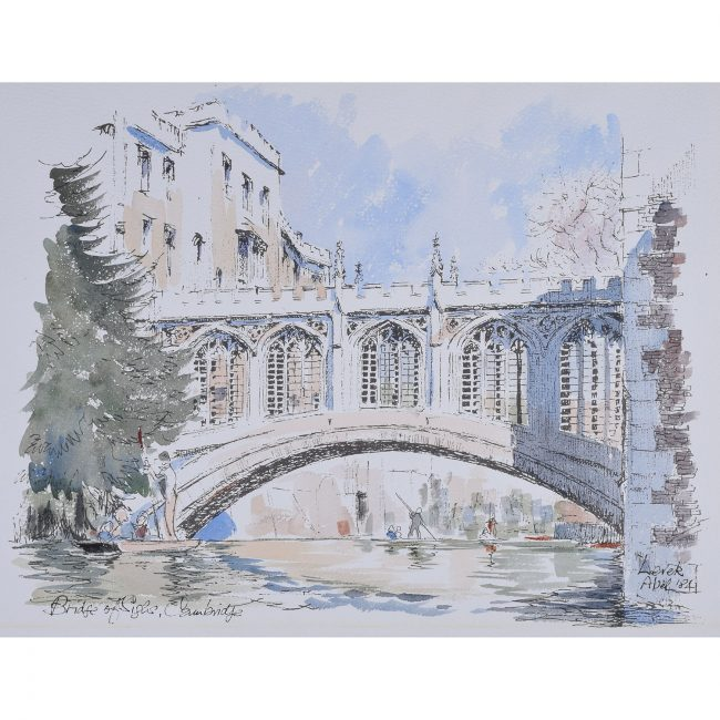 Derek Abel Bridge of Sighs Cambridge