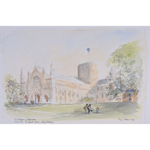 Hugh Casson St. Albans Cathedral