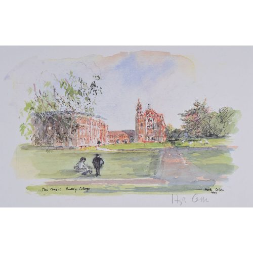 Hugh Casson The Chapel at Radley College