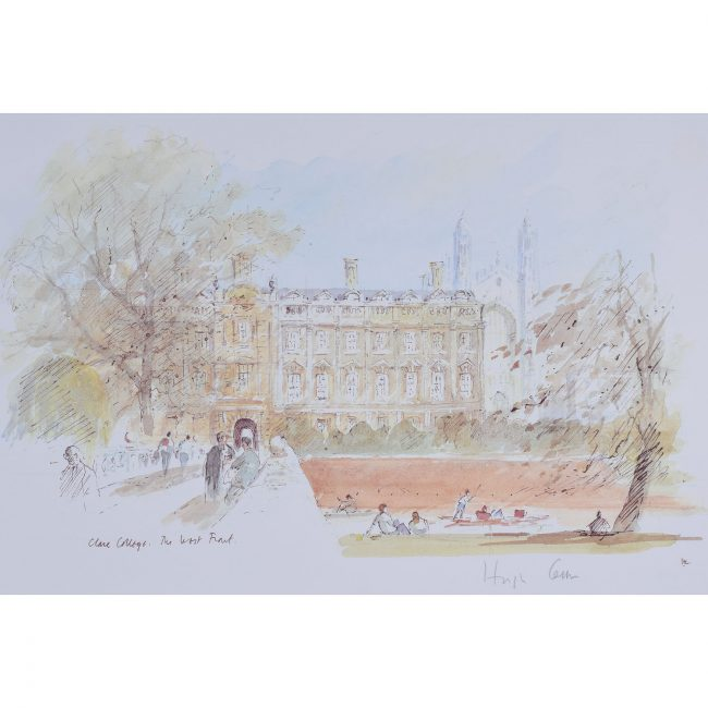 Hugh Casson West Front Clare College Cambridge