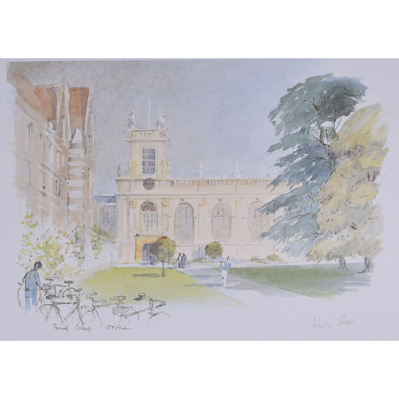 Hugh Casson Trinity College Oxford