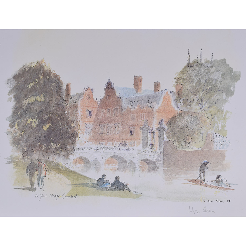 Hugh Casson St. John's College Cambridge