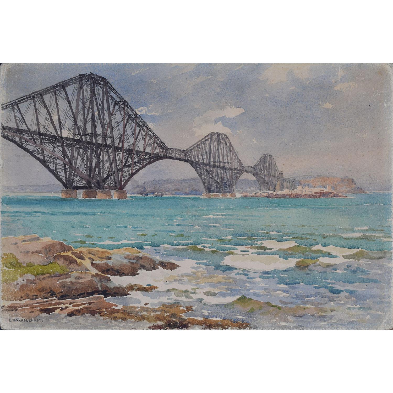 E. W. Hazlehurst Forth Bridge and Fife