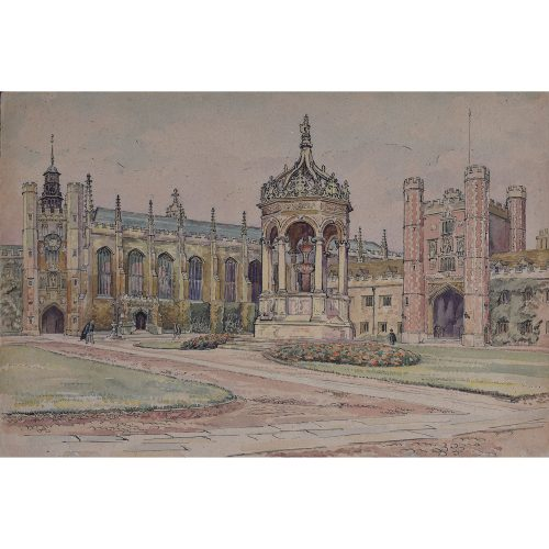 J V C Anthony Great Court Trinity College Cambridge