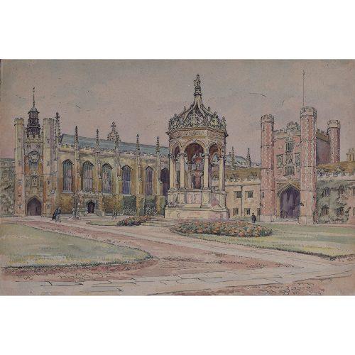 J V C Anthony Great Court Trinity College Cambridge