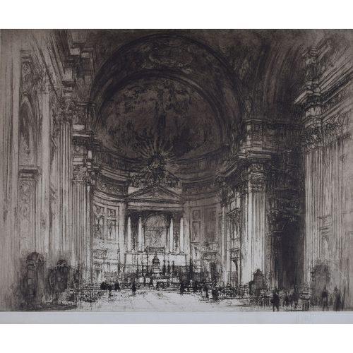 William Walcott Interior of the del Gesu Rome