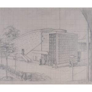 Derek Wicrow Design for National Film Theatre Southbank