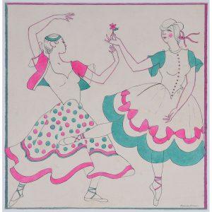 Macadam Dancing Couple
