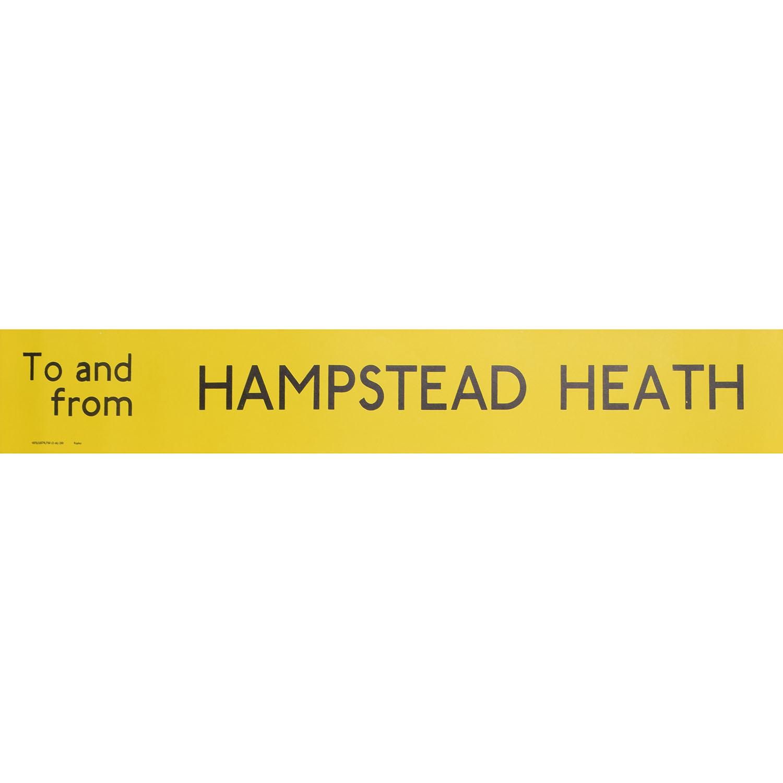 Hampstead Heath Routemaster Slipboard Poster c1970
