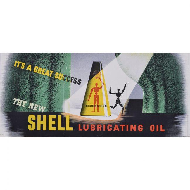 Edward McKnight Kauffer Shell: Lubricating Oil