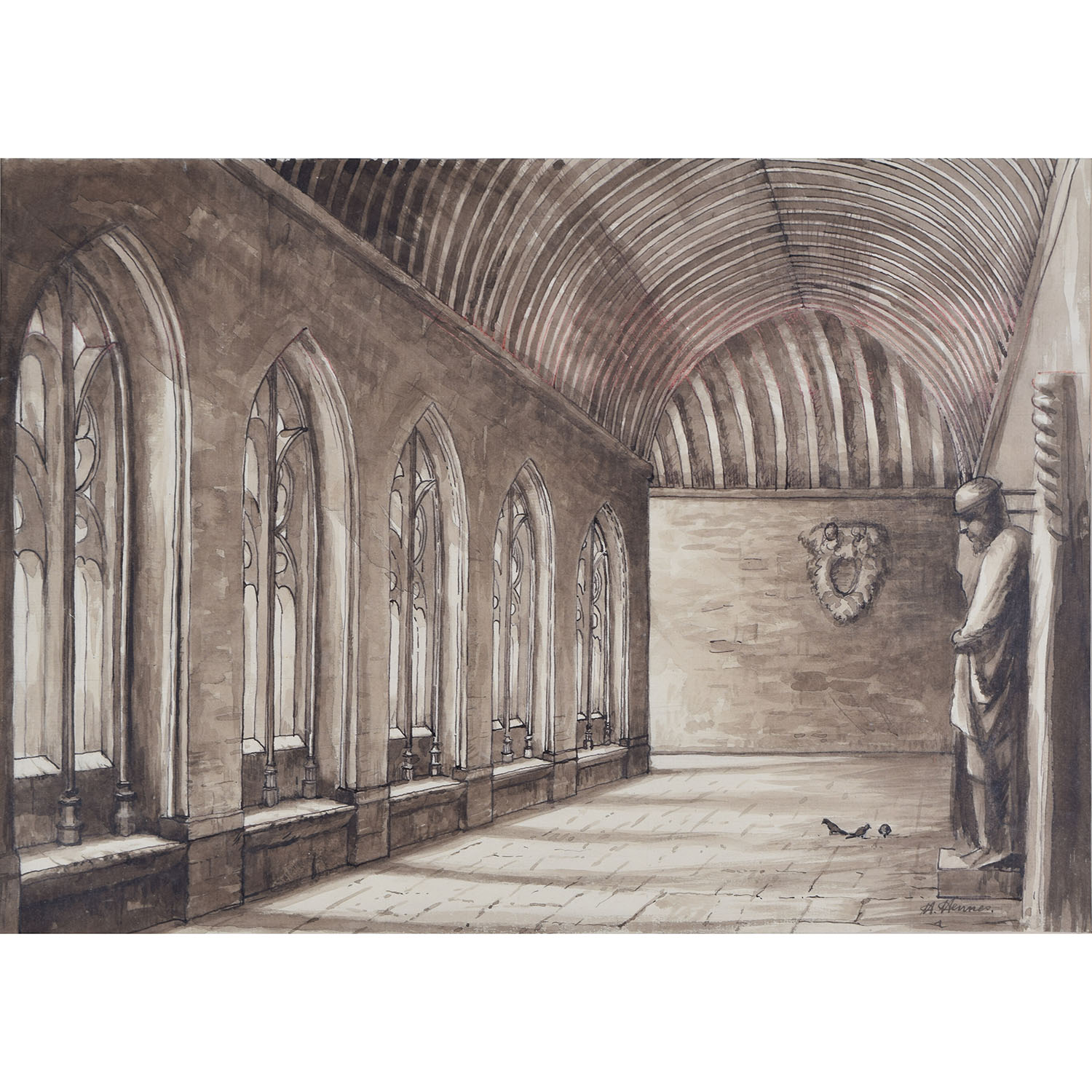 Hubert Henners New College Oxford