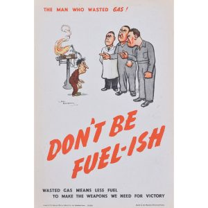 H. M. Bateman Don't be Fuel-ish (the man who wasted gas II)