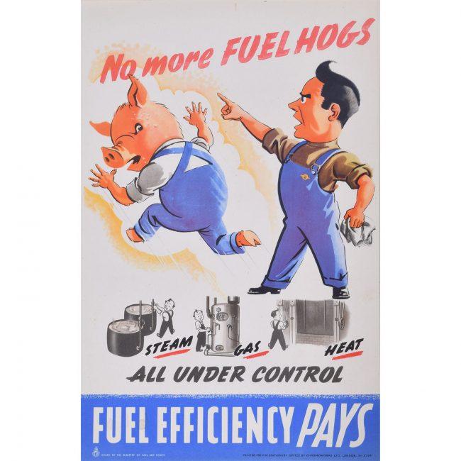No more Fuel Hogs