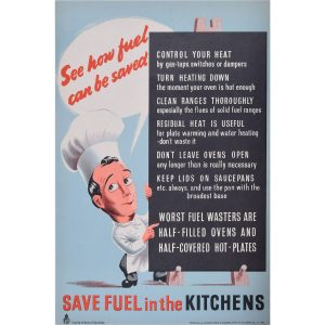 Save Fuel in the Kitchens