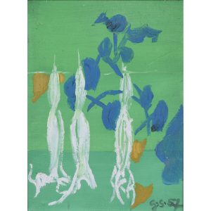 Graham Sutherland Datura oil on board
