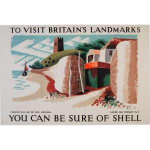 Clifford and Rosemary Ellis - Shell poster - Chanter's Folly and Dry Dock Appledore