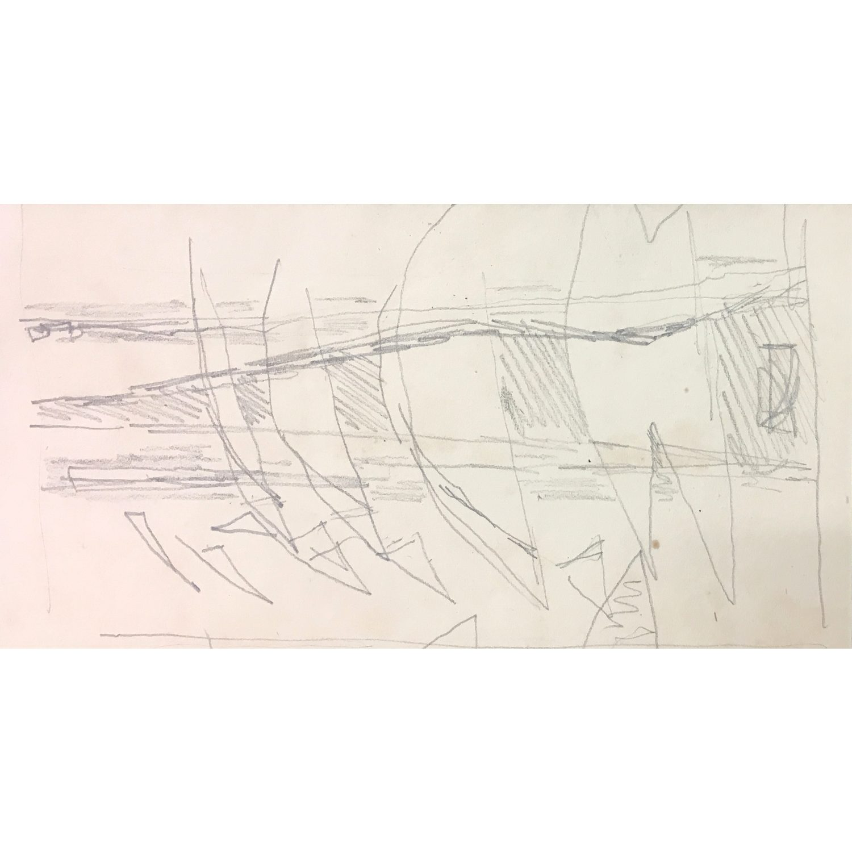 Clifford Ellis Sketch for Sailing Boats I