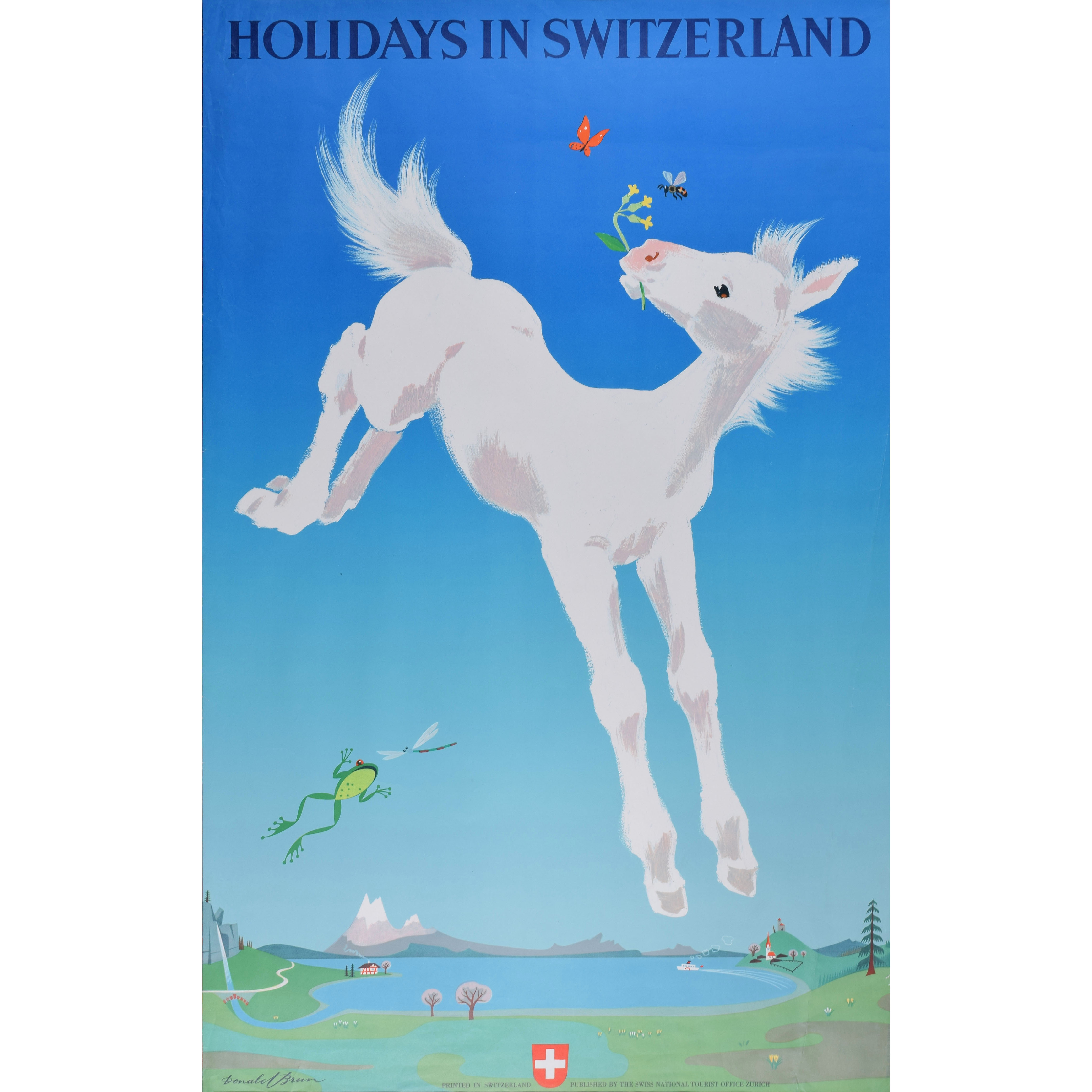 Donald Brun Holidays in Switzerland