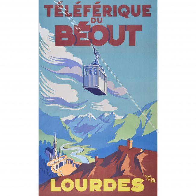 Hubert Mathieu Téléferique du Béout: Lourdes