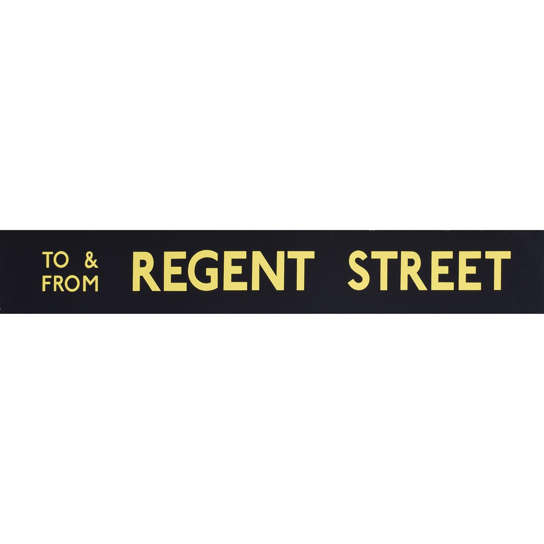 Regent Street Routemaster Slipboard Poster c1970