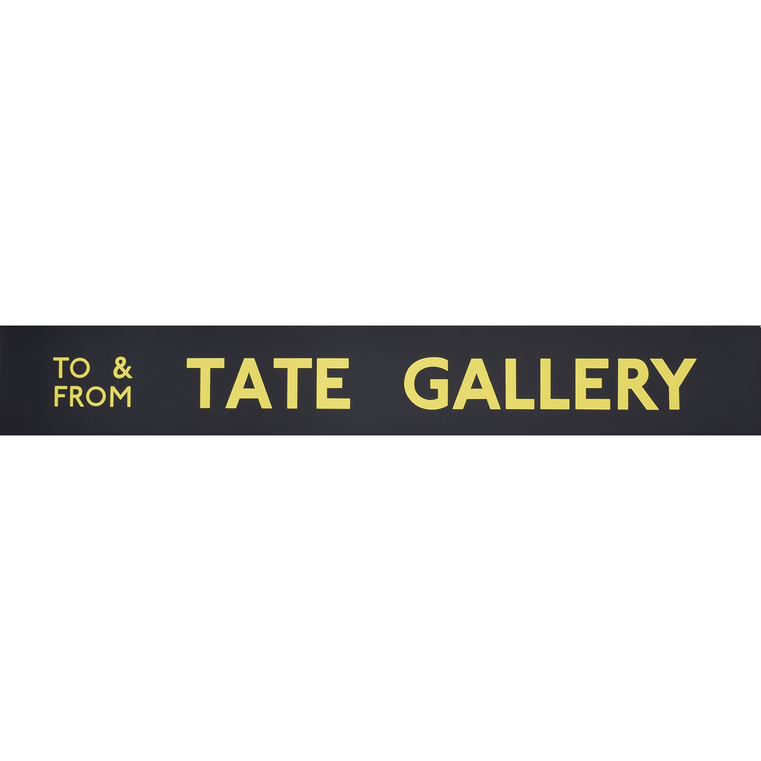Tate Gallery Routemaster Slipboard Poster c1970