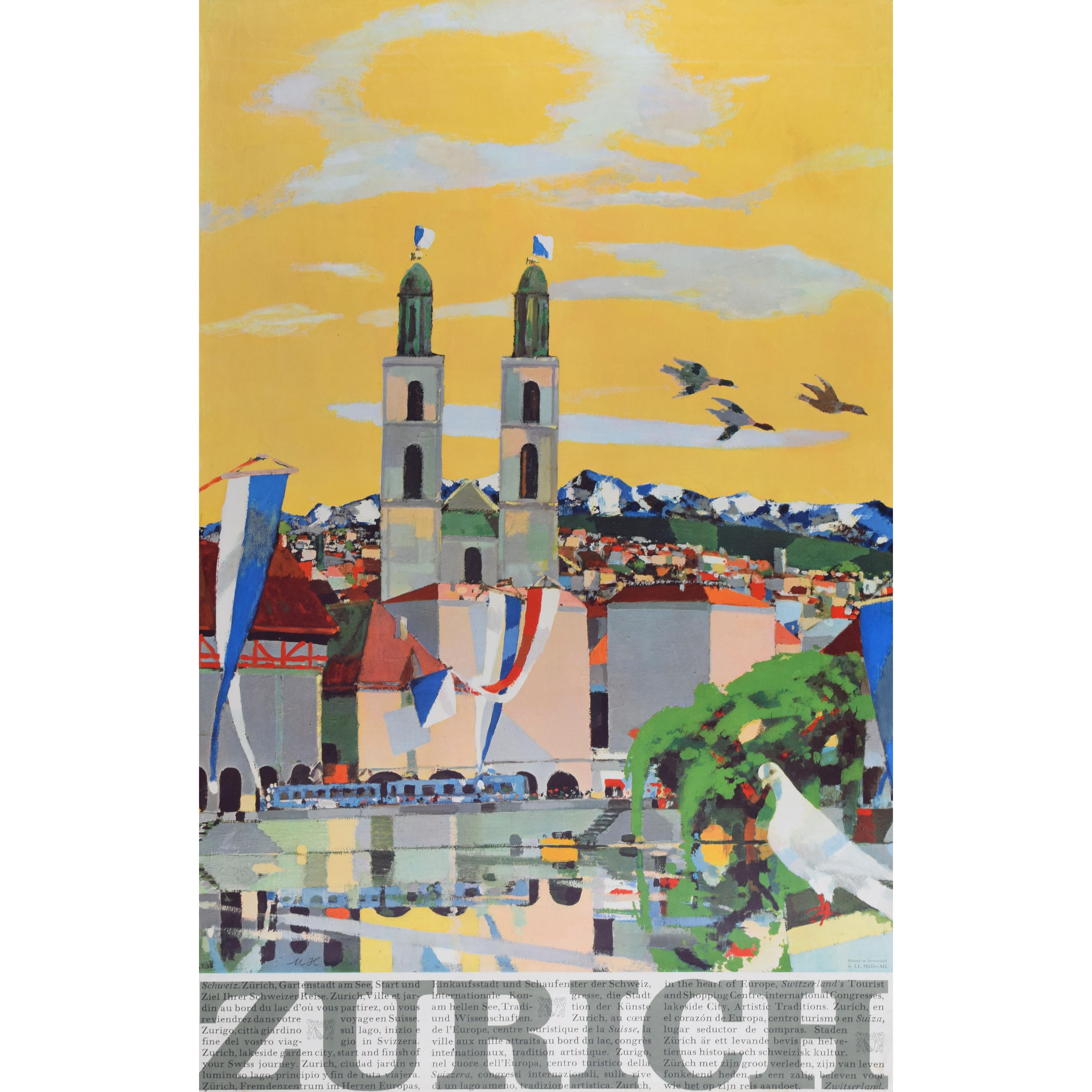 Zurich poster Max Hunsiker