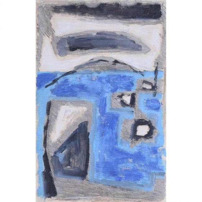 Clifford Ellis Seascape in Blue