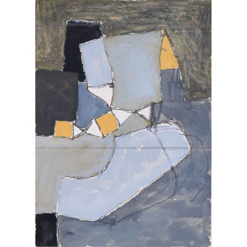 Clifford Ellis Seascape in Grey