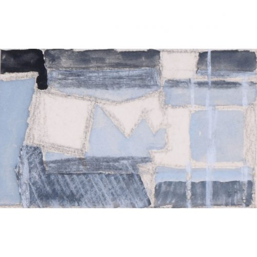 Clifford Ellis Abstract in Grey and Black