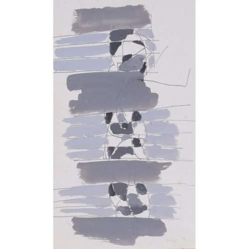 Clifford Ellis Abstract in Grey
