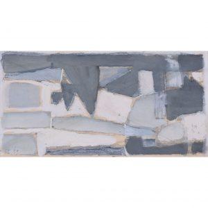 Clifford Ellis Abstract in Grey II